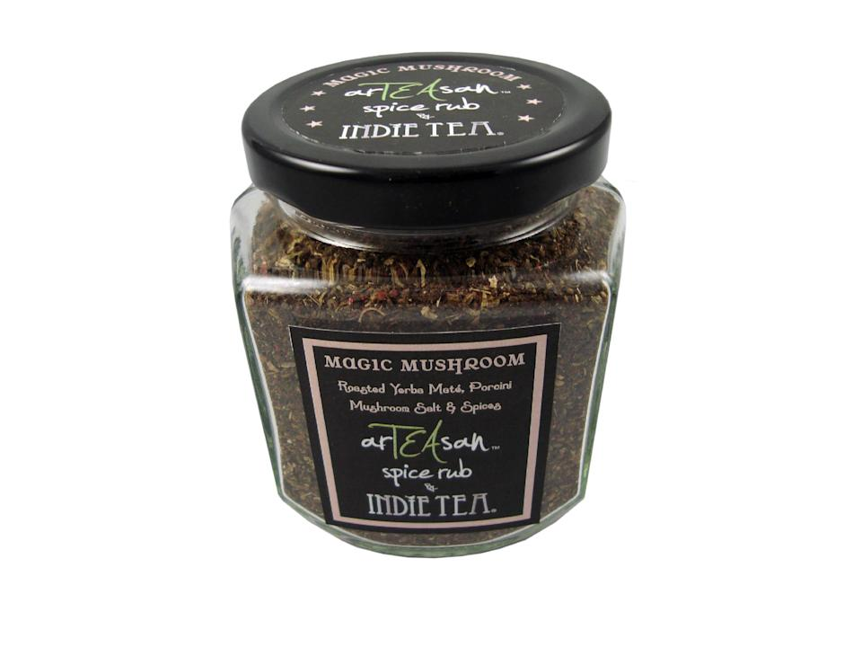 A Magic Mushroom spice rub by Indie Tea made with tea, coriander, cumin, fennel and garlic has been named one of the best new products at the World Tea Expo.