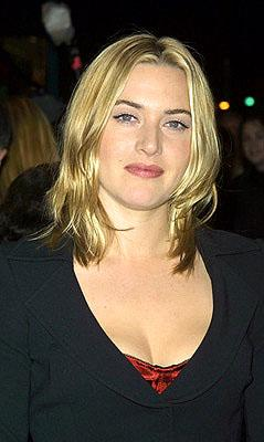 Kate Winslet at the New York premiere of Miramax's Iris