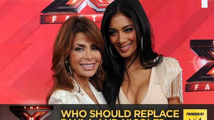 'The X Factor': Who Should Replace Paula and Nicole?