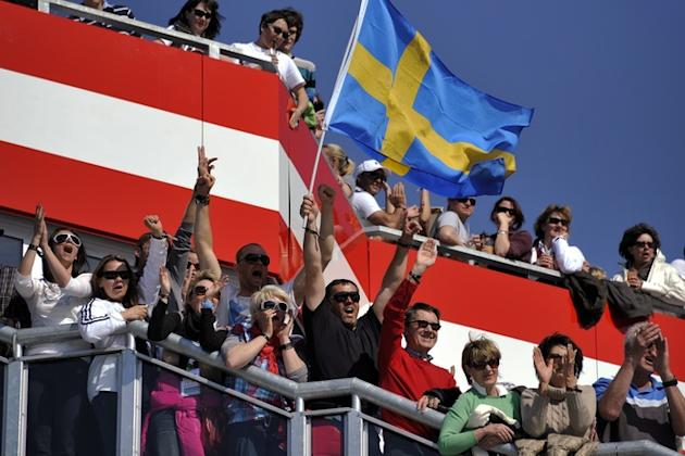 Supporters Raise A Swedish Flag AFP/Getty Images