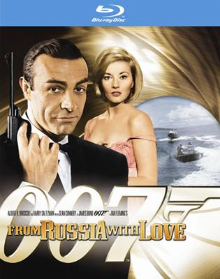 Blu-ray box art for Fox Home Entertainment's From Russia with Love