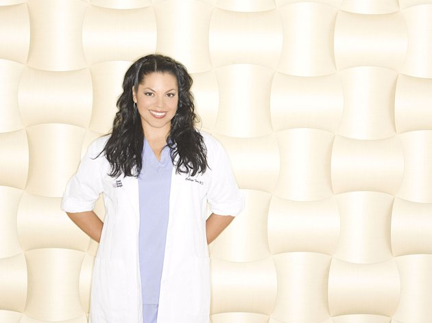 Sara Ramirez in the ABC series Grey's Anatomy