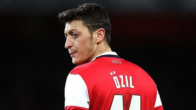 Mesut Ozil has struggled for form recently