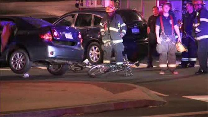 Bicyclist struck in Logan Square,  driver released