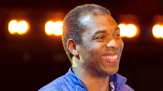 Afrobeat Star Femi Kuti Performs On Stage At Sadler's Wells