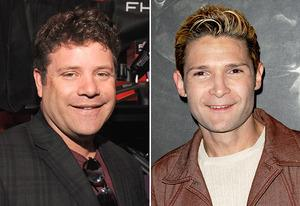 Sean Astin, Corey Feldman | Photo Credits: Mark Sullivan/WireImage; Beck Starr/FilmMagic