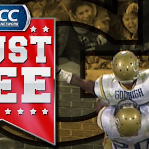 Georgia Tech's Robert Godhigh Breaks 65-Yard Touchdown Run | ACC Must See Moment
