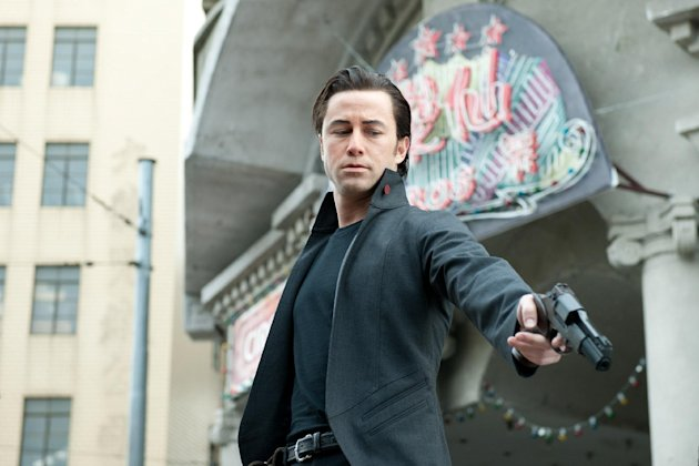 This film image released by Sony Pictures shows Joseph Gordon-Levitt in a scene from the action thriller &quot;Looper.&quot; (AP Photo/Sony Pictures Entertainment)