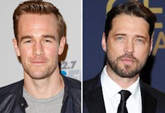 James Van Der Beek, Jason Priestley | Photo Credits: Imeh Akpanudosen/Getty Images; Clinton Gilders/FilmMagic.com