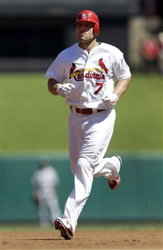 Craig hits RBI single in 10th, Cards beat Brewers