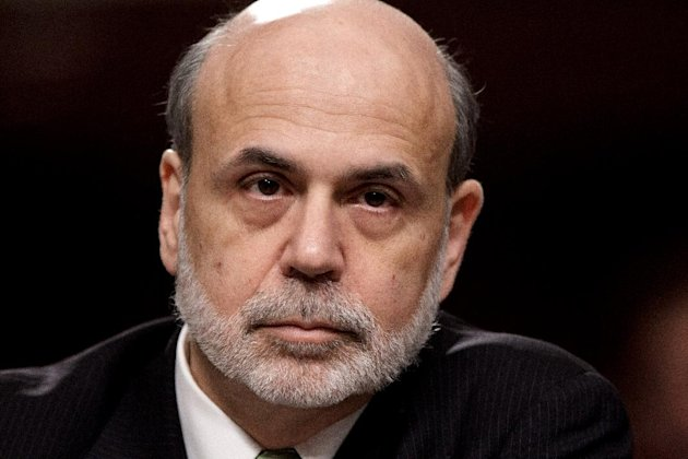 Federal Reserve Board Chairman Ben Bernanke testifies on Capitol Hill in Washington, Thursday, June 7, 2012, before the Joint Economic Committee about the health of nation&#39;s economy, the slumping recovery, and the European debt crisis. (AP Photo/J. Scott Applewhite)
