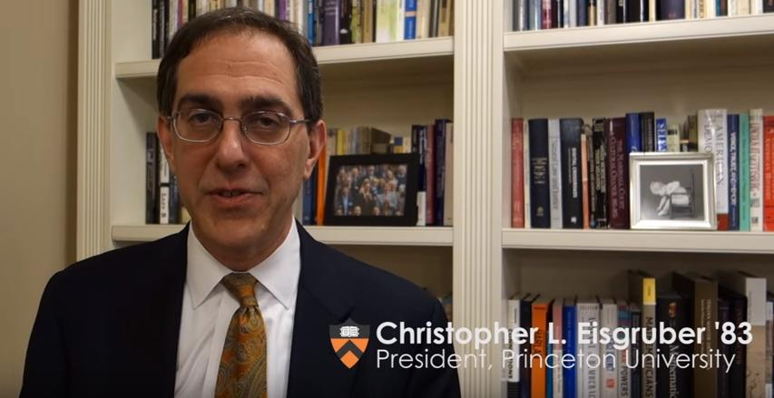 Princeton's president speaks out about the arrest of a black professor over a parking ticket