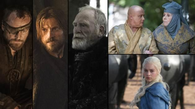 AccessHollywood.com's guide to Episode 304's new characters and plot highlights -- Beric Dondarrion, Jaime Lannister, Lord Commander Mormont, Varys and Lady Olenna, Daenerys -- HBO