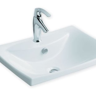 Enameled cast iron sink