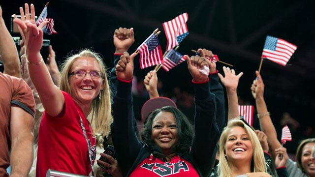 Gabby Douglas' 2 Mothers Watch Her Make Olympic History