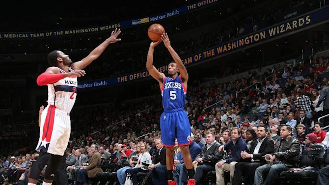 Gortat's double-double leads Wizards past 76ers 106-93