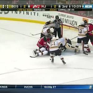 Niklas Svedberg Save on Steve Bernier (09:51/3rd)