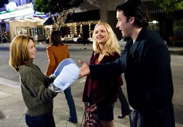 Diane Lane , Jordana Spiro and John Cusack in Warner Bros. Pictures' Must Love Dogs