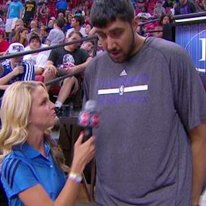 Sim Bhullar At Summer League