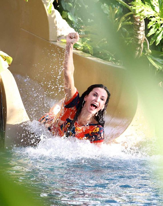 Courteney Cox Hawaii
