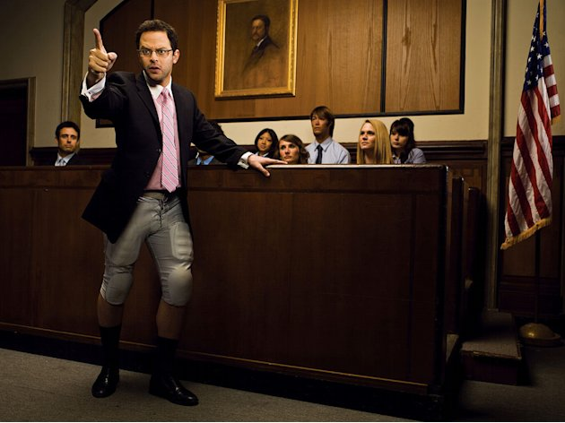 "Nick Kroll stars as Ruxin in ""The League."""