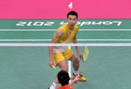 Malaysia's Lee Chong Wei during the men's badminton singles final against China's Lin Dan at the London Olympics on August 5. Lee said Tuesday he could make another tilt at Olympic glory in 2016 after Malaysia's top gold-medal hope fell at the final hurdle for the second straight Games