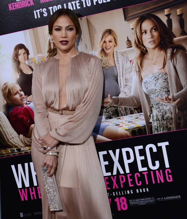 Jennifer Lopez attends the premiers of