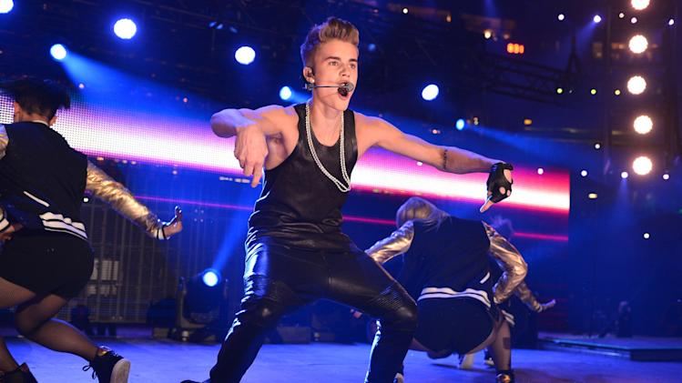 Justin Bieber Performs At The CFL's 100th Grey Cup Championship Halftime Show