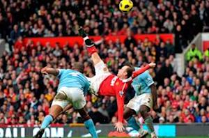 Rooney: Derby win will put pressure on Manchester City