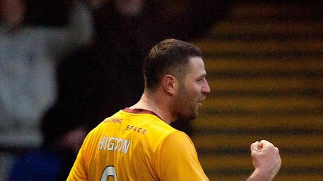 Michael Higdon has scored 18 goals for Motherwell this season