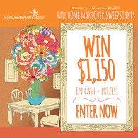 From You Flowers Launches Fall Home Makeover Sweepstakes