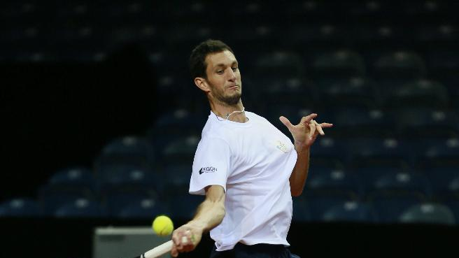 Great Britain's James Ward during practice
