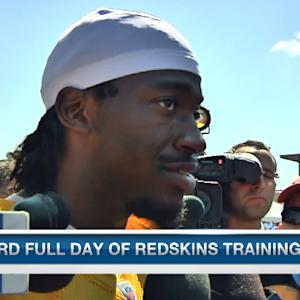 Washington Redskins quarterback Robert Griffin III: 'We were more mentally sharp today'