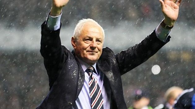 Walter Smith led Rangers to 10 titles as manager