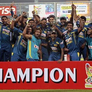 Thirimanne, Malinga give Lanka title