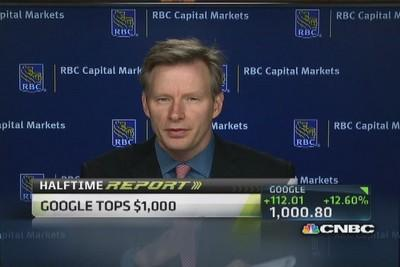 You can profit here: Analyst on Google