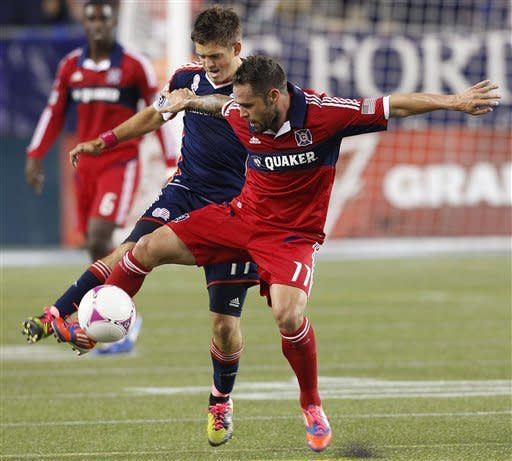 Revolution beat Fire 1-0 on Fagundez goal