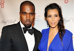 Kayne West and Kim Kardashian  | Photo Credits: Theo Wargo/WireImage