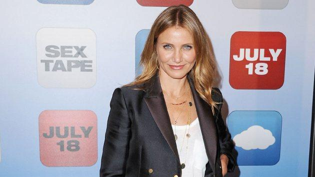 Cameron Diaz on July 10, 2014 -- Getty Images