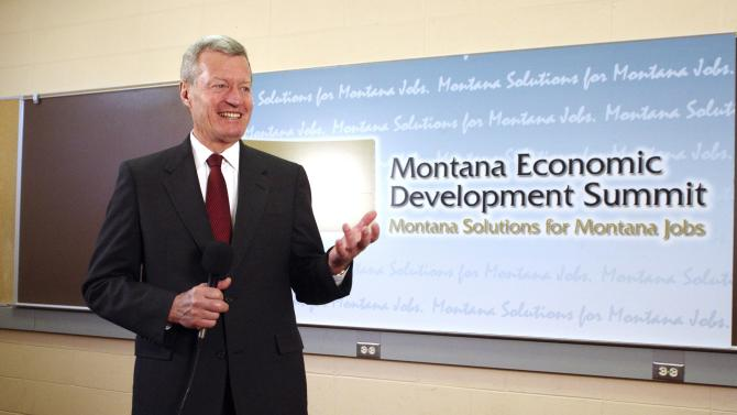 Big-business leaders talk tax code at Mont. summit