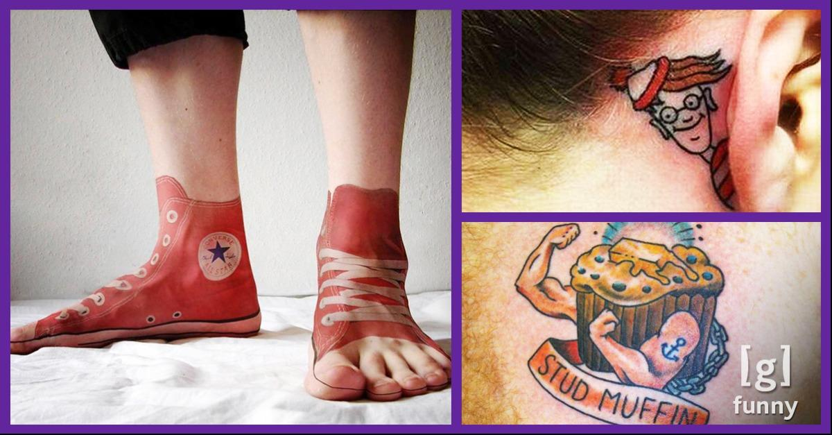 75 Hilarious Tattoos