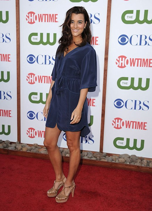 "Cote de Pablo of ""NCIS"" attends the CBS, The CW, and Showtime 2011 Summer TCA Party at The Pagoda on August 3, 2011 in Beverly Hills, California."