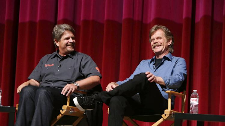 Producer John Wells and William H. Macy at An Evening with Shameless, on Tuesday, June, 4, 2013 in Los Angeles. (Photo by Eric Charbonneau/Invision for Showtime/AP Images)