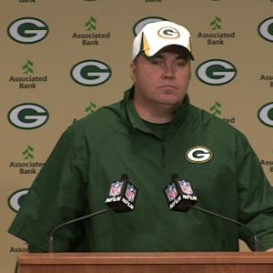 Green Bay Packers head coach Mike McCarthy's press conference