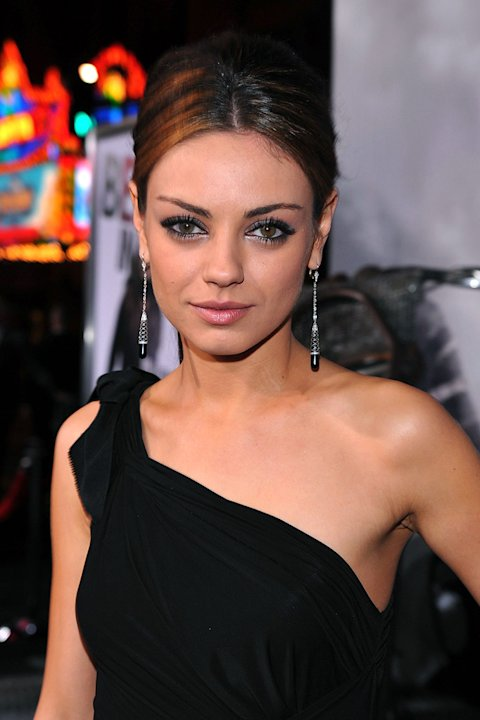 The Book of Eli LA premiere 2010 Mila Kunis