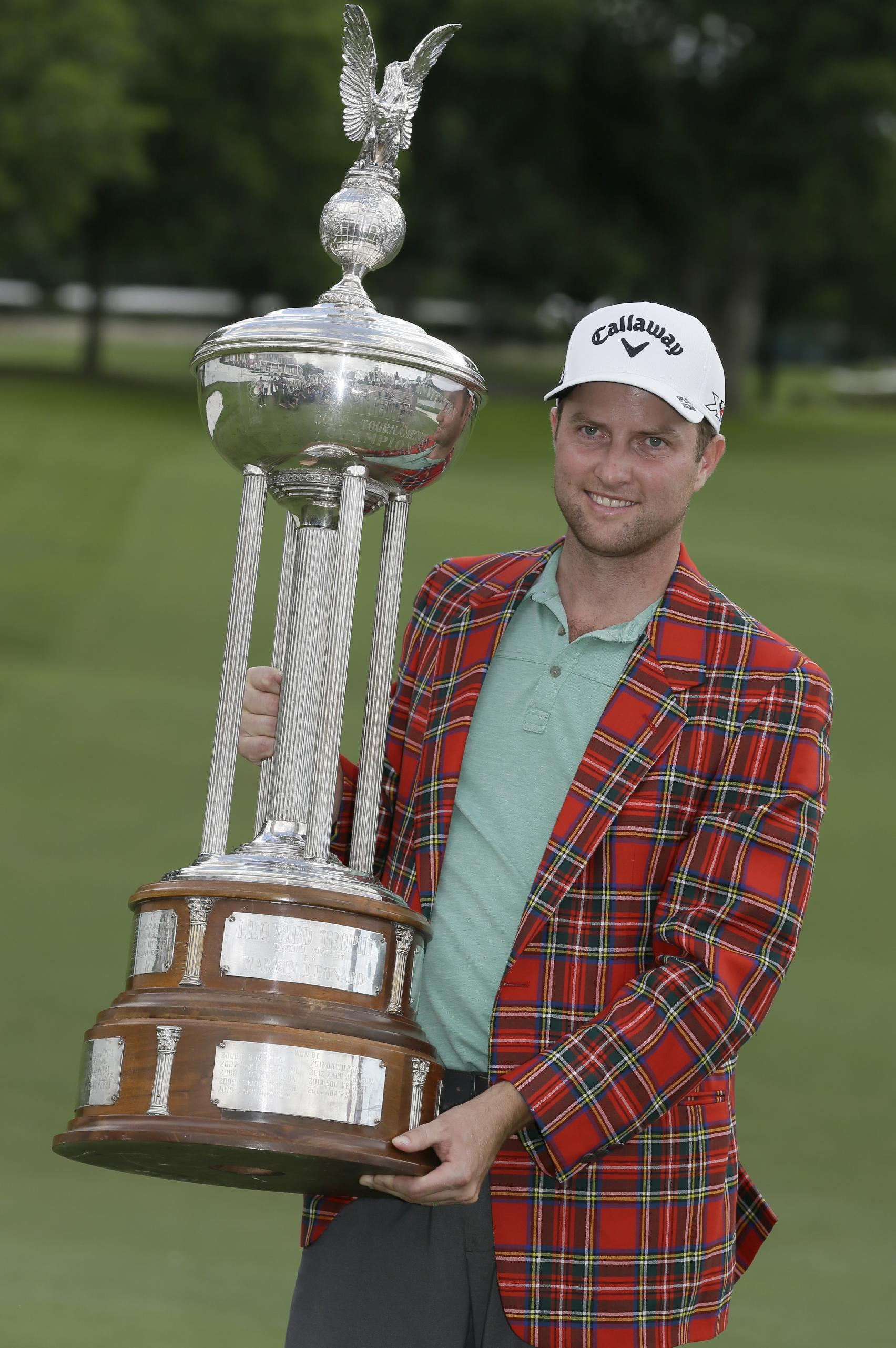 Clutch final par gives Kirk win at Colonial, denies Spieth
