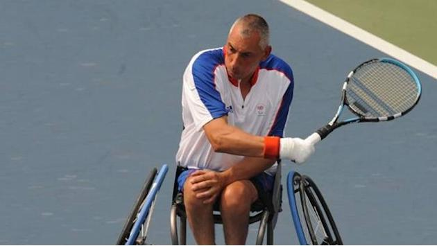 London 2012 - Norfolk takes break from Wheelchair Tennis Tour
