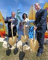 Six Flags Over Georgia Breaks Ground for Hurricane Harbor