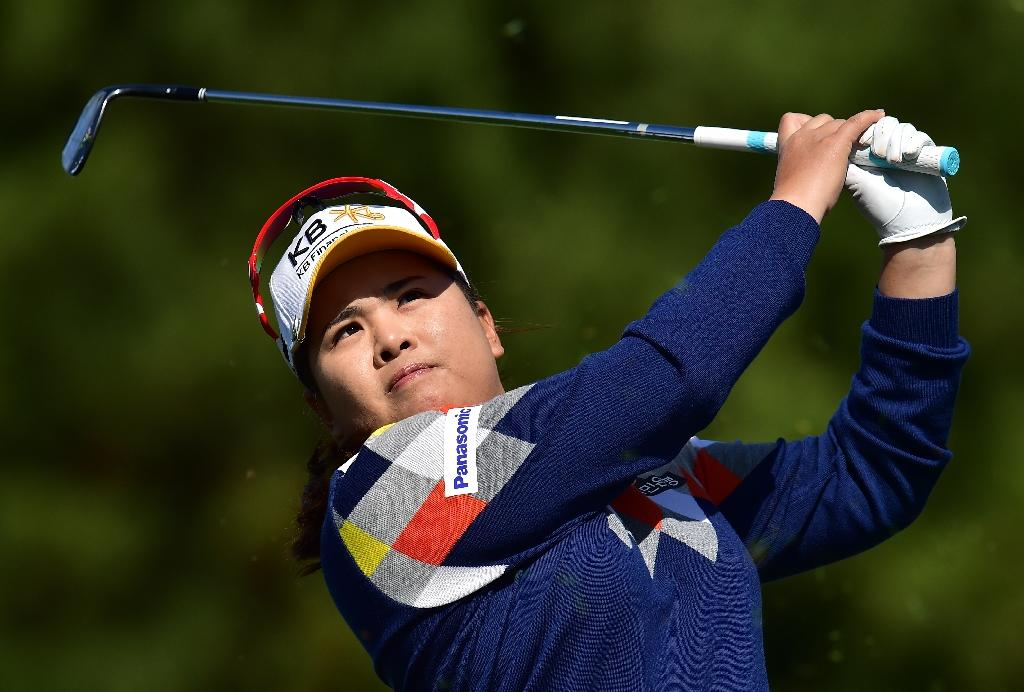 Last-gasp birdie keeps South Korea's Park on top