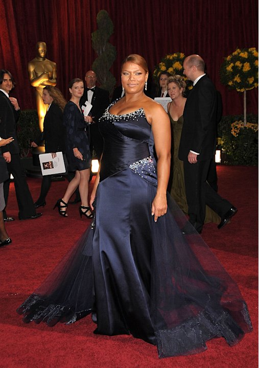 Queen Latifah B W Oscars